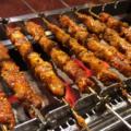 羊肉串の『千里香』:自動でクルクル回る不思議な装置でスパイシーな羊肉を焼きにいく。@上野
